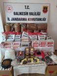 Manyas'ta Kaçak Tütün Operasyonu