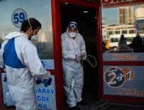 AZERBAYCAN CUMHURBAŞKANI - 17 ülkeyle kara ve hava yolu ulaşımı durduruldu