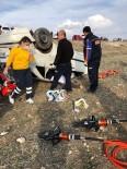 Kırşehir'de Kaza Açıklaması 1 Ölü, 4 Yaralı