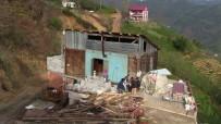 Baba Yadigarı Evi Yıkmaya Kıyamadı, Vinçle 50 Metrelik Mesafedeki Bal Evinin Üzerine Kondurdu