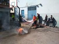 Daday'da İlçe Emniyet Amirliğinde Yangın Tatbikatı Yapıldı