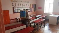Kırkağaç'ta Tüm Okullar Dezenfekte Edildi