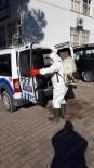 Selendi'de Dezenfekte Çalışmaları Sürüyor