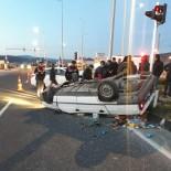Manisa'da Trafik Kazası Açıklaması 5 Yaralı
