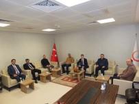 MEHMET SARI - AK Parti'den İl Sağlık Müdürü Sarı'ya Ziyaret
