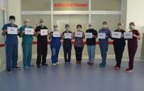ALAADDIN KEYKUBAT - Alanya'da Sağlık Çalışanlarından 'Evde Kal' Mesajı