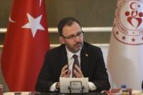 TÜRKIYE VOLEYBOL FEDERASYONU - Bakan Kasapoğlu Açıklaması 'Liglerin Ertelenmesine Birlikte Karar Verdik'