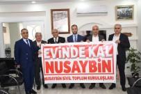 ESNAF ODASI - Nusaybin'deki STK'lardan Vatandaşlara 'Evinde Kal' Çağrısı