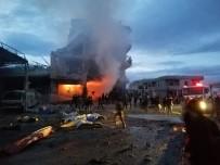 AZEZ - Suriye'de Bombalı Araçla Saldırı Açıklaması 2 Ölü