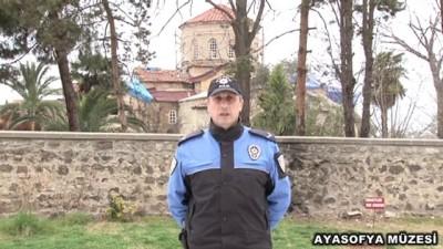 Trabzon Emniyet Müdürlüğünden Görüntülü Koronavirüs Uyarısı