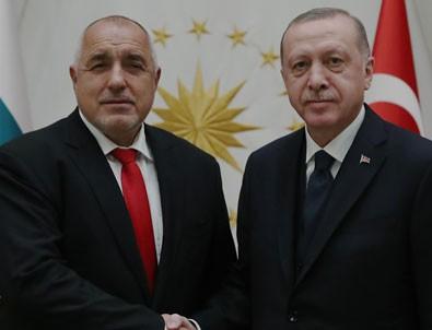 Cumhurbaşkanı Erdoğan, Borisov'u kabul etti!