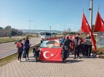Gönen'de Mehmetçik'e Destek