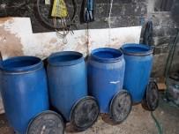 KAÇAK İÇKİ - Adana'da 3 Bin 650 Litre Kaçak İçki Ele Geçirildi