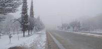 KAR KALINLIĞI - Besni'de Kar Yağışı