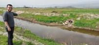 BALCıLAR - Ödemiş'te Bir Mahalle Atık Sulara Tepki Gösterdi, Yardım İstedi