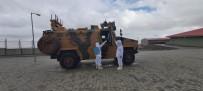 ZEYTIN DALı - Sınır Birliklerinde Korona Virüse Karşı Dezenfekte Tedbirleri
