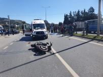 ALAADDIN KEYKUBAT - Alanya'da Motosikletin Çarptığı Bisikletli Öldü