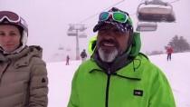 KAR KALINLIĞI - Cıbıltepe, Martta Da Kayağın Adresi Oldu