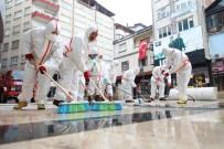 SAKARYA CADDESİ - Fatsa Belediyesi'nden Dezenfekte Çalışmaları