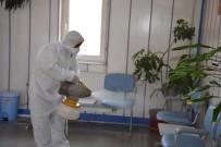 ÖĞRENCİ YURTLARI - Gülüç Belediyesi Her Noktayı Dezenfekte Ediyor