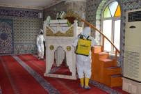 PIR SULTAN ABDAL - Havza'da Camilerde Dezenfekte Çalışması