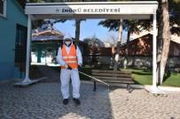 HİJYEN DENETİMİ - İnönü'de Dezenfekte Çalışmaları Aralıksız Devam Ediyor
