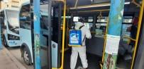 PENDİK BELEDİYESİ - İstanbul'da Hatlı Minibüsler Korona Virüsüne Karşı Dezenfekte Edildi