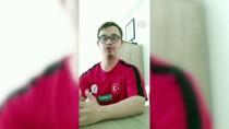 AHMET ERDEM - Özel Sporculardan 'Evde Kal' Çağrısına Destek