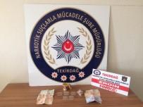 UYUŞTURUCU OPERASYONU - Tekirdağ'da Uyuşturucu Operasyonu Açıklaması 2 Gözaltı