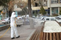 AKSARAY BELEDİYESİ - Aksaray'da Oto Ve Hayvan Pazarı Dezenfekte Edilip Kapatıldı