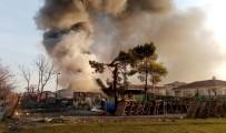 ŞIRINEVLER - Bahçelievler'de Korkutan Yangın