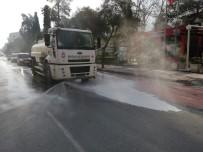 FARUK ÇELİK - Şehzadeler'in Sokaklarında Dezenfekte Çalışmaları Başladı
