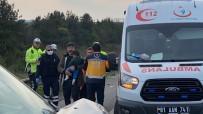 TEM OTOYOLU - Tem Otoyolunda Feci Kaza Açıklaması 3'Ü Çocuk 7 Yaralı