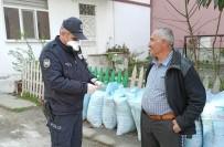 Alaçam Polisinin 65 Yaş Üstü Mesaisi