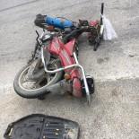 Ayvacık'ta Motorsiklet Kazası Açıklaması 1 Yaralı