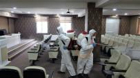KOCAELI ÜNIVERSITESI - Başiskele'de Korona Virüsle Mücadele Sürüyor