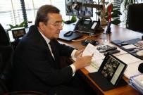 İZMIR VALILIĞI - Başkan Batur TBB Toplantısına Video Konferans İle Katıldı