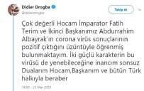 DROGBA - Drogba'dan Fatih Terim'e Geçmiş Olsun Mesajı