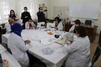 HABER BÜLTENLERI - Gönüllü Öğretmenler; Sağlık Çalışanları İçin 80 Bin Maske Üretecek