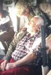 FıRAT ÜNIVERSITESI - Kalp Krizi Geçiren Dede, Helikopterle Hastaneye Ulaştırıldı