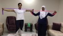 MİLLİ SPORCULAR - Korona Virüs Tedbirlerine 'Evde Kalıyorum Spor Yapıyorum' Videolarıyla Destek