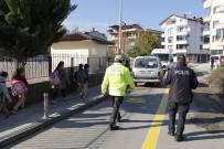 EMNIYET KEMERI - Ordulu Sürücülere Hız Cezası