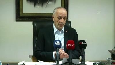 Türk-İş Başkanı Atalay'dan ''112'De Çalışan İşçiler De 24 Saat Mesai Yapsın'' Talebi