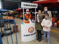 ÖĞRENCİ YURTLARI - 19 Mayıs Belediyesi'nden Vatandaşa Maske Ve Eldiven Dağıtımı