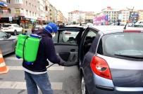 AVCILAR BELEDİYESİ - Avcılar'da Araçlara Korona Virüs Dezenfeksiyonu