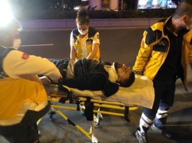 Başkent'te Ehliyetsiz Sürücü Kaza Yaptı Açıklaması 2 Yaralı