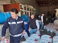 BUCA BELEDİYESİ - Buca'da Kaçak Dezenfektan Ve Maske Baskını