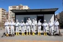 DİYARBAKIR VALİSİ - Diyarbakır'da Dezenfekte Çalışmaları Aralıksız Sürüyor