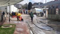 GEBZELI - Gebze Belediyesi Korona Virüsüne Karşı Tedbirlerini Sürdürüyor