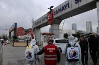 NANO - Kartal'da Ambulanslar Ve Oto Sanayi Siteleri Dezenfekte Edildi